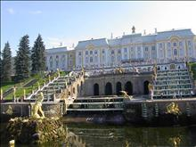 Bus excursion to Peterhof