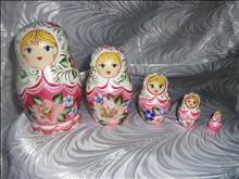Master-class on painting matryoshka at the Museum of Toys in Sergiev Posad