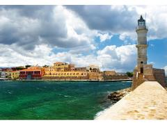 small-Chania Crete (Greece) - panoramic image with light house12