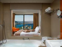 Lindos Blu Luxury Hotel & Suites: Double Room Bathroom