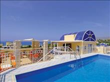 Porto Plakias Hotel: Swimming pool on the roof