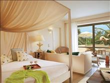 Grecotel Creta Palace Luxury Resort: Deluxe Family Bungalow Master Broom & Living Room